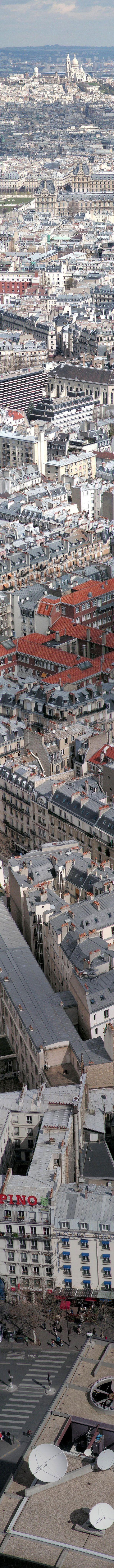 Great shot of Paris • original source not found