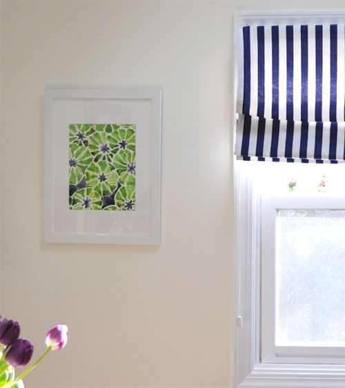 How to make a roman blind from a cellular blind