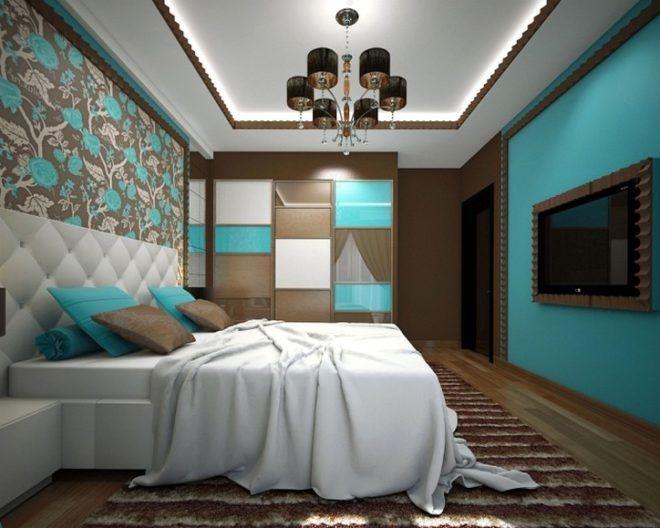 Создаём спальню в бирюзовых тонах: практические советы и иллюстрации