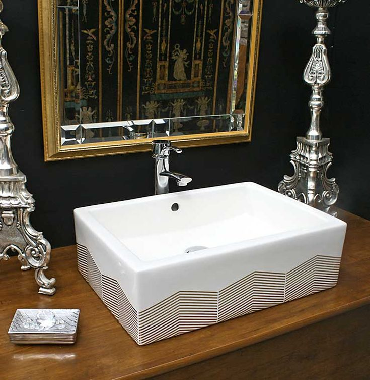 Best Contemporary Bathrooms Hand Painted Sinks Images On