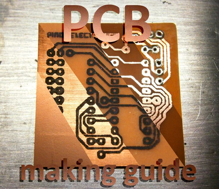There are many ways to make your own homemade PCB's, They all work, but some better than other,some faster than other, ones are cheap and others expensive.... After several attempts, i found the way of making PCB's, wich is the cheapest, easiest and fastest for me. I hope this instructable will help you to decide what's the best method for you, because there are so many to choose.