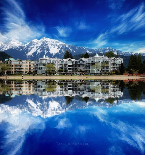 The Beauty of Harrison Hot Springs in British Columbia Canada.. Can't wait.. @Courtney Van Beek :)