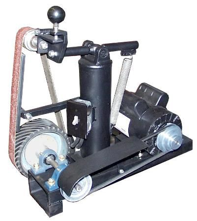 2x72 belt grinder tracking wheel