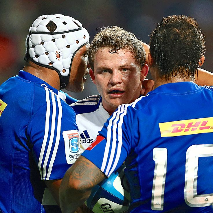 Super Rugby Round 19 | The Stormers' Deon Fourie celebrates a try with Nizaam Carr and Elton Jantjies.  | Photo: Getty Images/ ESPN Scrum