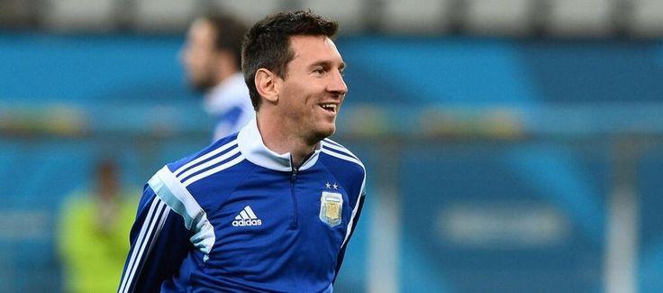 Messi hoy contra Holanda