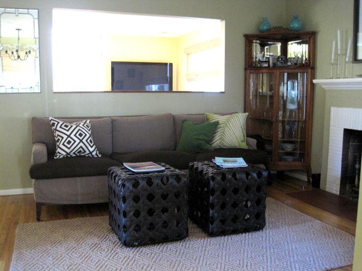 Green Walls Dark Firm Light Floors Grey Green Couch