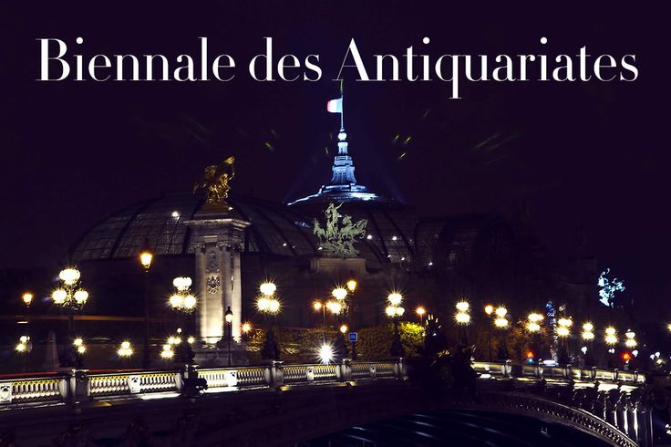 Appuntamento al Grand Palais Paris per la Biennale des Antiquariattes. READ http://bit.ly/1lMq7sd