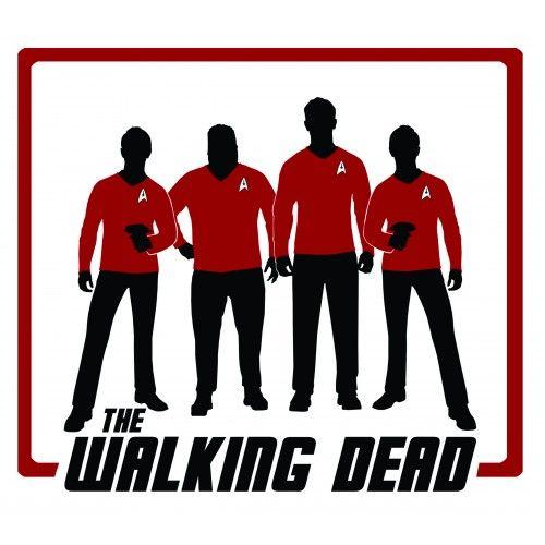 The Walking Dead Star Trek Red Shirts