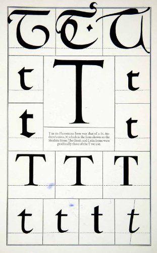 Alphabet - T