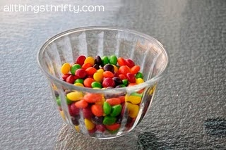 Here is what you do. You send around a bowl of skittles without telling them that it is part of your game. You do tell them not to eat their skittles yet though. So, after everyone has a bunch of skittles you explain that for every skittle they have, they need to tell something about themselves.  For every red skittle, you tell embarrassing moments or memorable moments in your life. For every orange skittle, you tell a goal that you have. For every purple skittle, you tell an achievement…