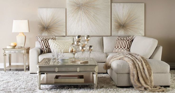 Inspired by this Celebrate In Style Living Room look on @ZGallerie