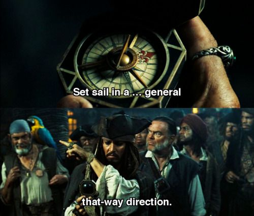 """""""In a general ...that way direction."""""""