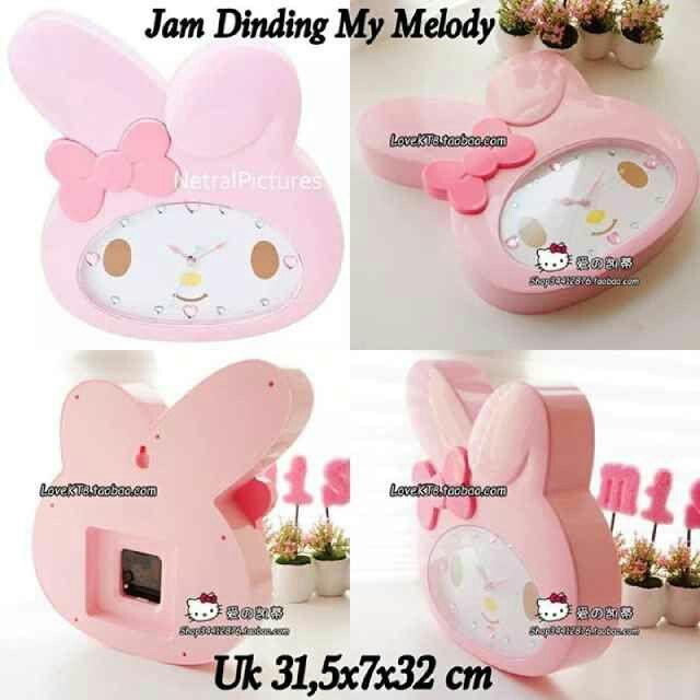 #jam dinding #melody @ 145.000