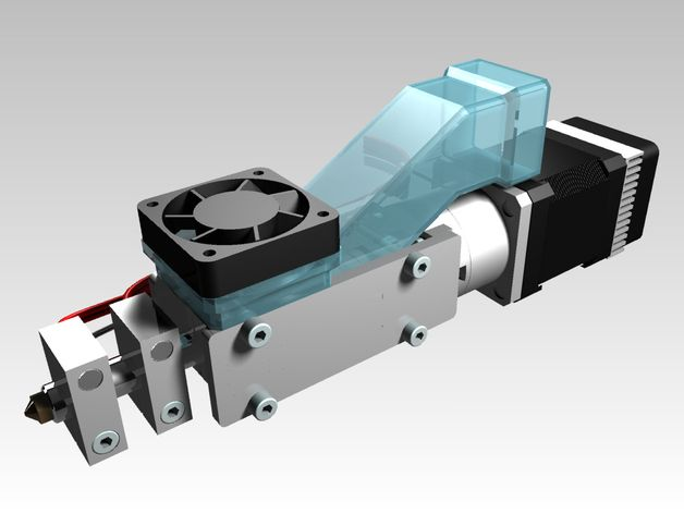 Universal pellet extruder is a simply and compact direct