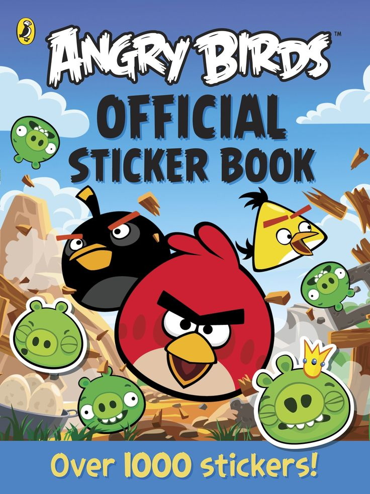 Angry Birds Official Sticker Book