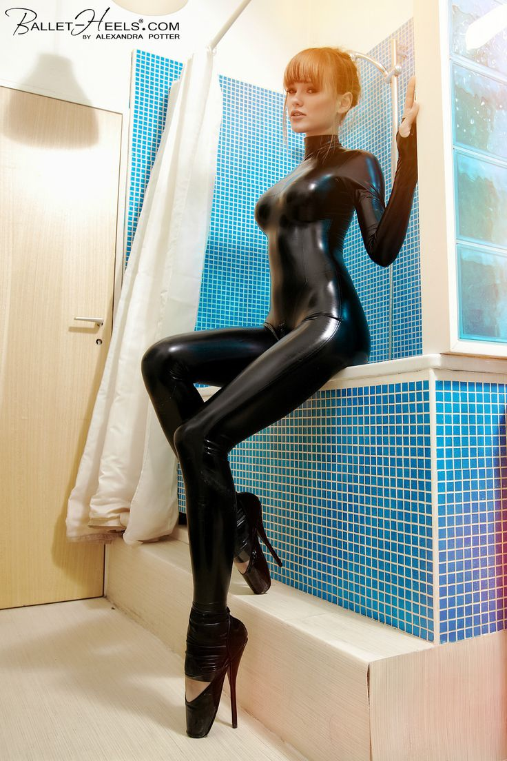Seeing bubble latex cubo style she
