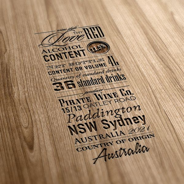 Packaging in Typography on Behance