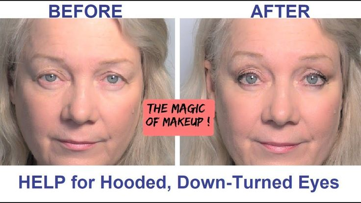 Hooded, Downturned Eyes Lifted, revamped Makeup Tips Video for Women, Mature Beauty over 50 - YouTube