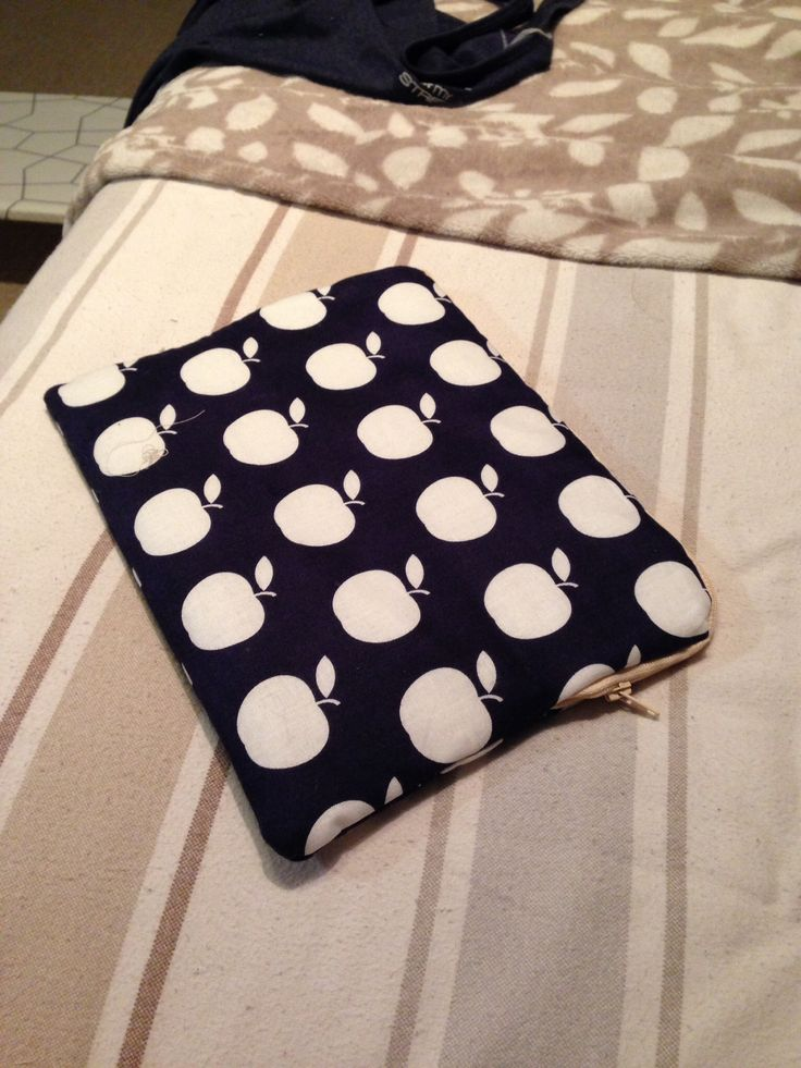 iPad case using apple fabric - the irony! Made by The Craft Tin