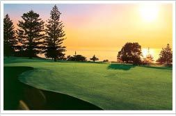 View fromShelly Beach Golf Club