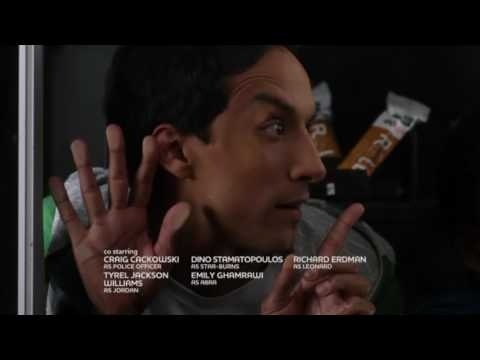Abed and Troy in a vending machine