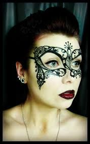 Image result for queen of hearts face paint