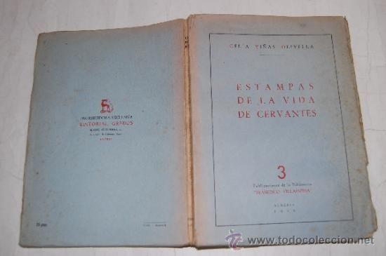 Estampas de la vida de Cervantes CELIA VIÑAS OLIVELLA RA20284 - Foto 1