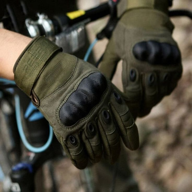 Sale Fleece Tactical Gloves Military Army Knuckles Battle Outdoor Sport Cycling Moto Glove Full Finger #Latex #Glove
