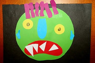 """""""Go Away Big Green Monster"""" By Ed Embery... moster activity idea."""