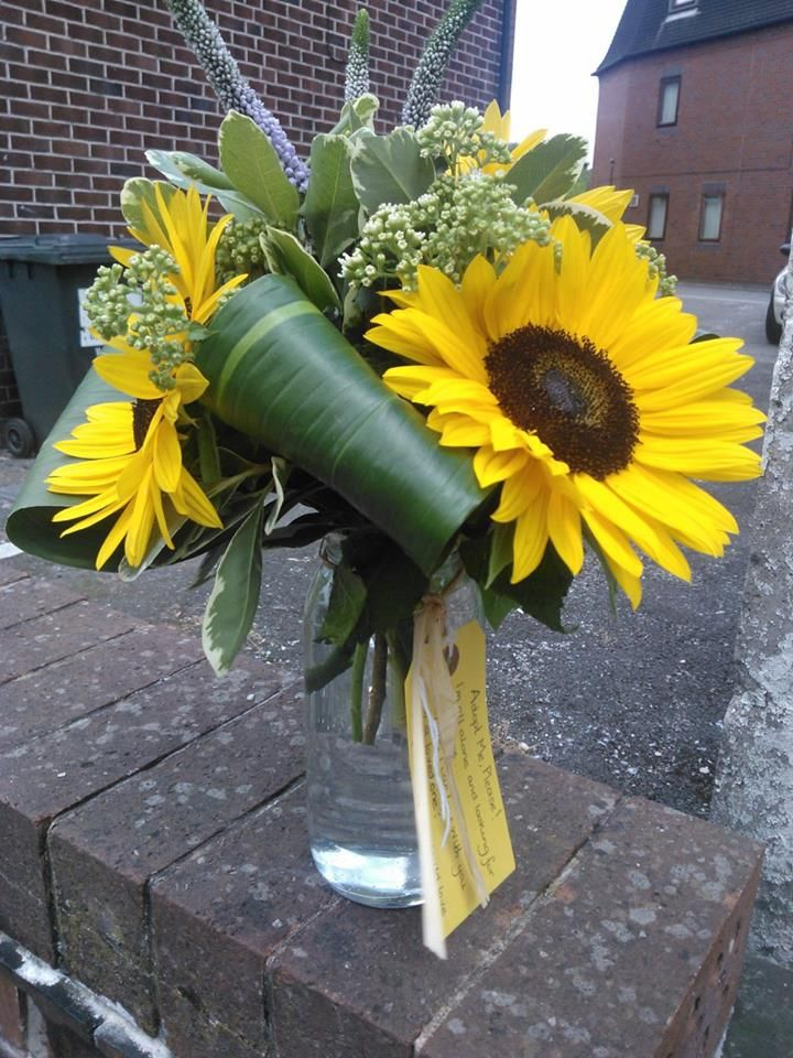 One of the lonely bouquets we left in Sandbach 2013