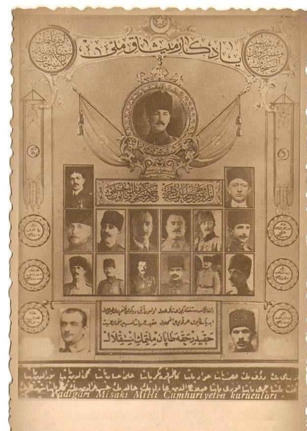 y. 1923: MİSAK-I MİLLİ TABLOSU: Türk Cumhuriyetinin Kurucu Atalara bir anıt...Kırım Tatarı