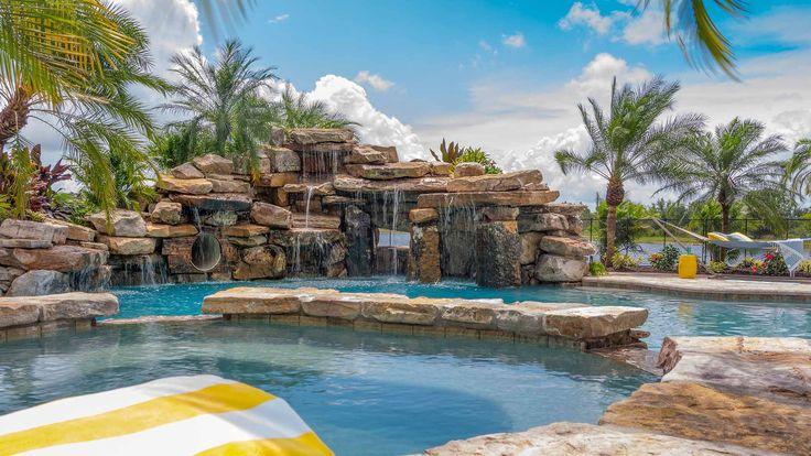 Fort Myers Swimming Pool Contractor Lucas Lagoons Custom Pools Insane Pools Pool Builders