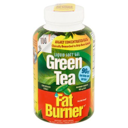 Green Tea Fat Burner: Fat Burner Dietary Supplement Green Tea, 90 ct Image 2 of 6