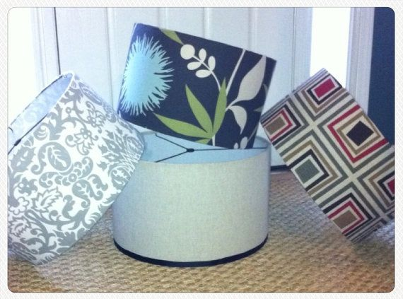 27 best drum lamp shades images on Pinterest   Drum lamp shades ...