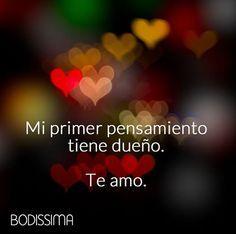 Te amo #Amor #Pareja #Boda #Novios #Novia http://bodissima.mx/ https://www.facebook.com/Bodissima