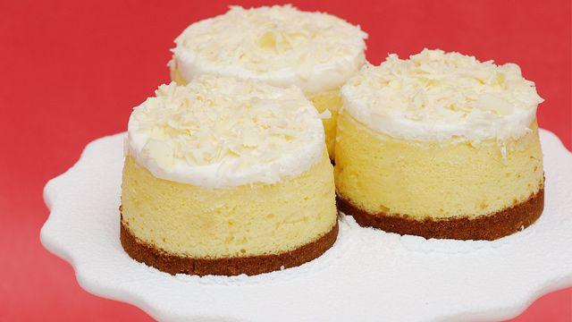White Toblerone Cheesecake Recipe