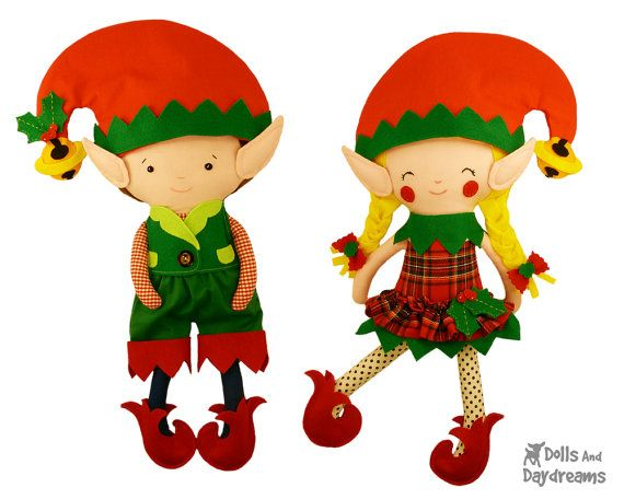 Elf Dolls by DollsAndDaydreams
