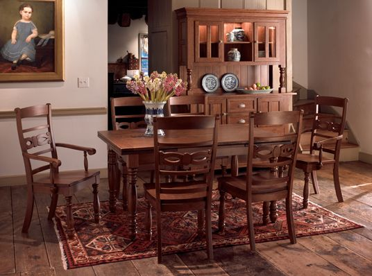 32 Best Keystone Collections Images On Pinterest  Amish Furniture Endearing Dining Room Table With Pull Out Leaves Design Decoration