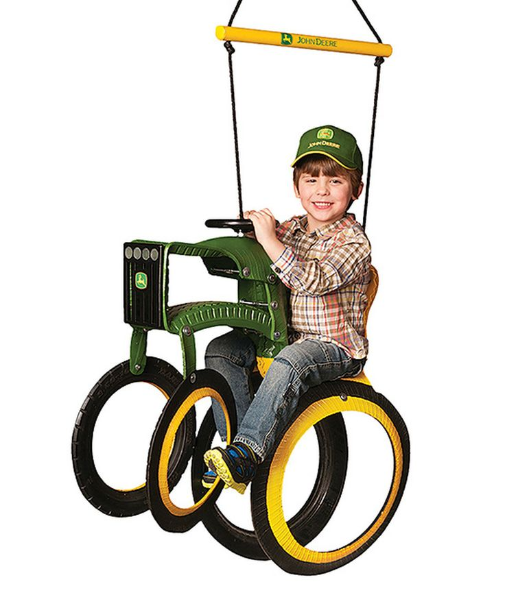 Another great find on #zulily! John Deere Tractor Tire Swing by M&M Sales Enterprises #zulilyfinds