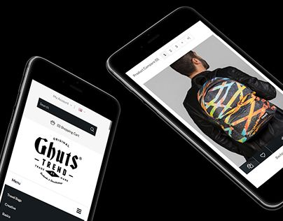 "Ghuts.com e-commerce. Check out new work on my @Behance portfolio: ""Ghuts Trend - e-commerce"" http://be.net/gallery/57485577/Ghuts-Trend-e-commerce"