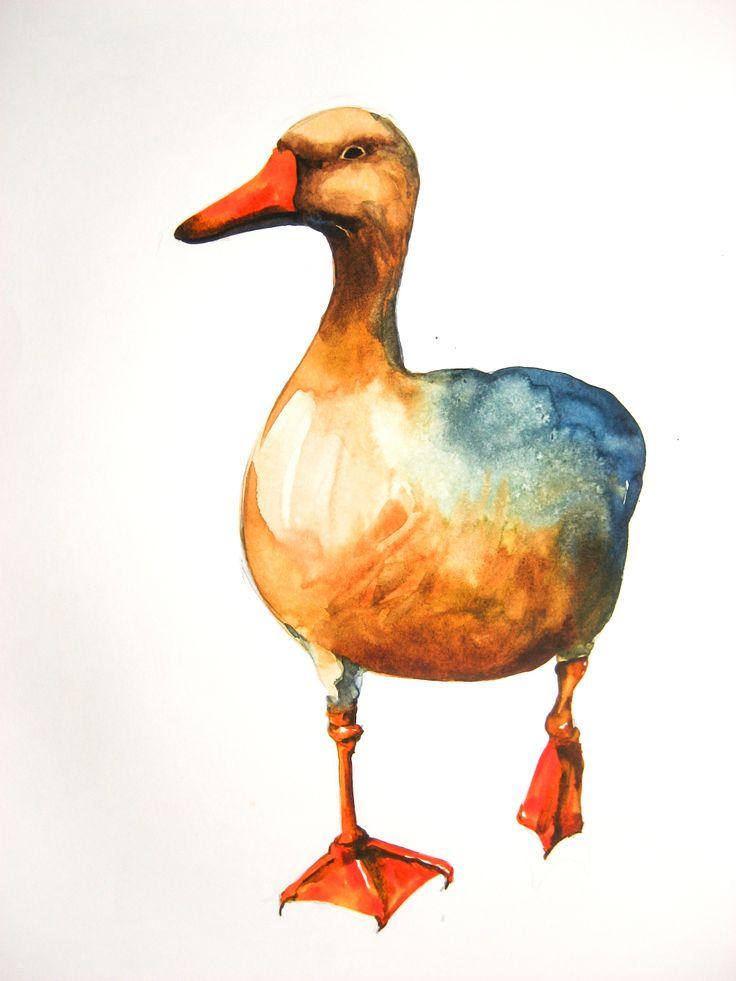 2013 illustration(copy) #watercolor #수채화 #번지기