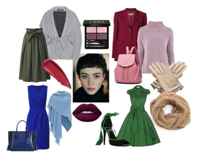 """""""winter"""" by explorer-14860390596 on Polyvore featuring мода, Each X Other, Balmain, Topshop, Kinross, Uniqlo, Sisley, Lime Crime, Gucci и Hermès"""