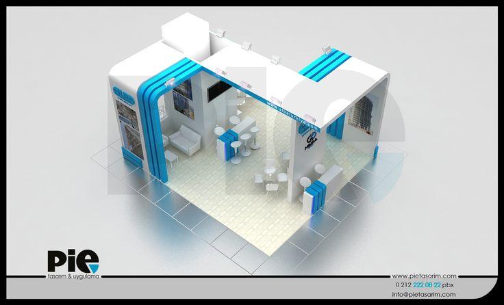 Yapı Fuarı ''HERA GROUP'' Stand Tasarımımız