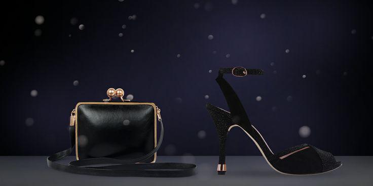 The minaudière Loggia & the sandals Volodia from Repetto
