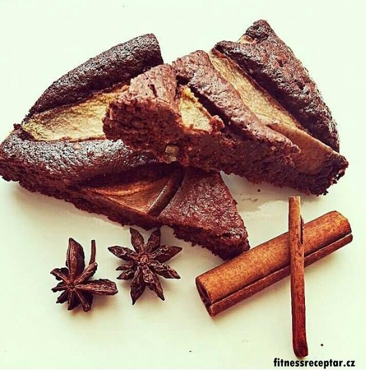 Mandlovo-hruškový koláč | Fitnessreceptář.cz - vybrané zdravé fitness recepty, články a více