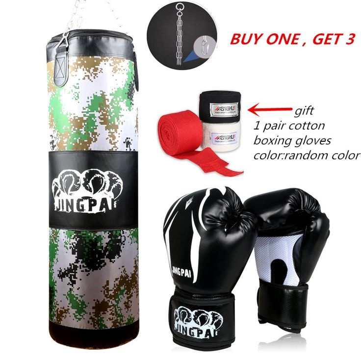 2016 New Army Green Red Empty Kick Boxing Bag Training Fitness Punching Bag Saco De Boxeo Hook Hanging MMA Fight Sandbag(empty)