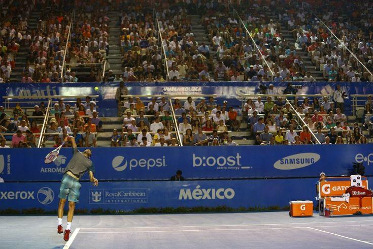 Acapulco tendrá derrama económica de 700 mdp por Abierto Mexicano de Tenis.