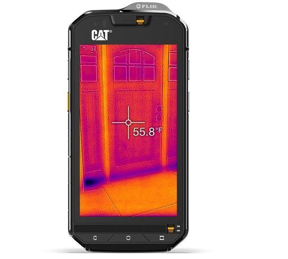 Cat S60 il primo smartphone con certificazione militare e termocamera integrata