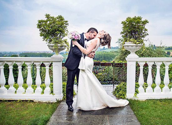 Matrimonio.it | Olga Franco Photography - Torino #Matrimonio in #villa #wedding #photo #kiss #bride #couple #love #forever
