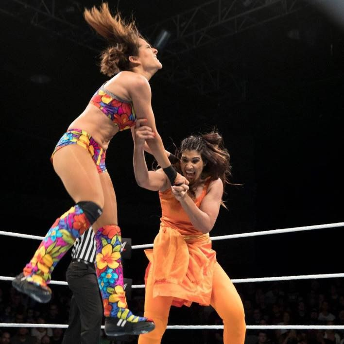 Have a Look Kavita Devis Awesome WWE Fight in a Kurti!